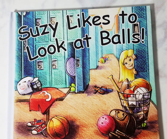 Suzy Likes To Look At Balls