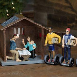 The Hipster Nativity Scene