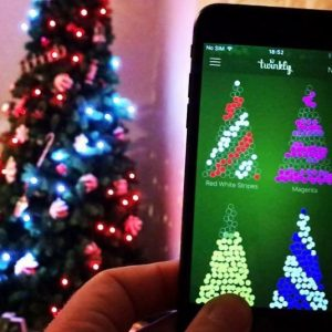 App Controlled Twinkly String Lights