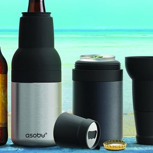 Asobu Frosty Beer 2 Go Bottle & Can Cooler