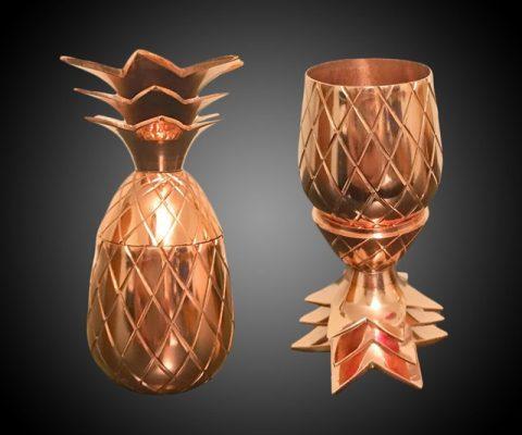 Brass Pineapple Shot Glass