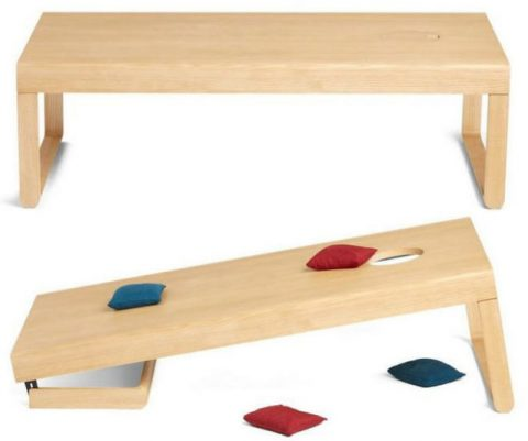 Cornhole Board Coffee Table