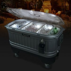Igloo Party Bar Cooler with LiddUp Lighting