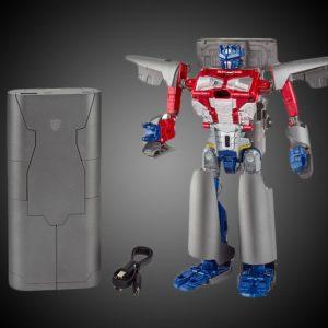 Optimus Prime Converting Power Bank