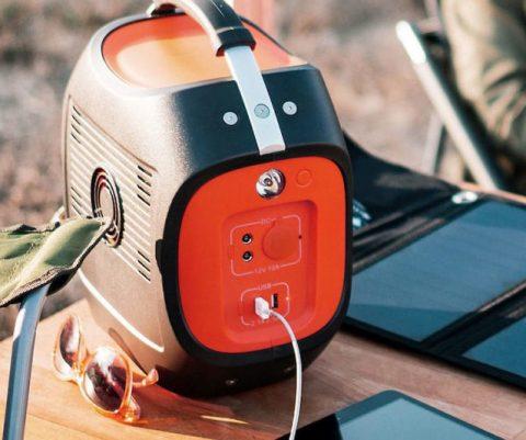 Solar Powered Battery Pack Generator