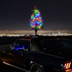 The Christmas Car Tree