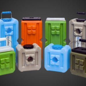 WaterBrick Stackable Water & Food Storage