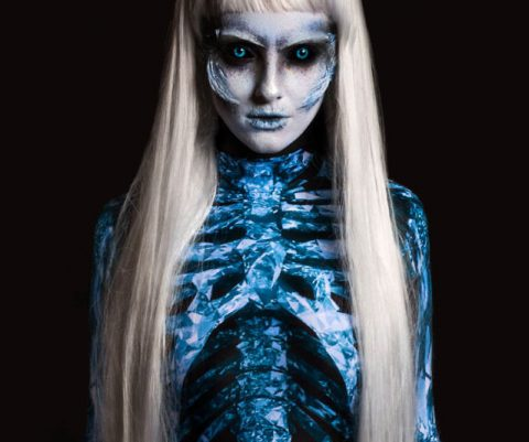 White Walker One-Piece Costume