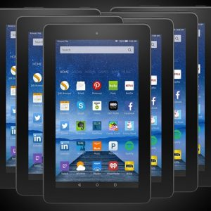 6-Pack of Amazon Fire Tablets
