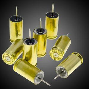 9mm Bullet Casing Push Pins