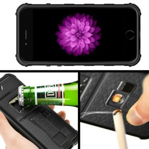 A Drink & a Smoke Impact-Proof iPhone Case