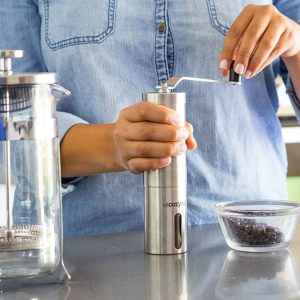 Ceramic Burr Manual Coffee Grinder