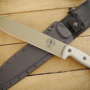ESEE Junglas Dark Earth Knife