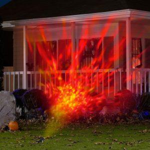 Fire & Ice Light Show