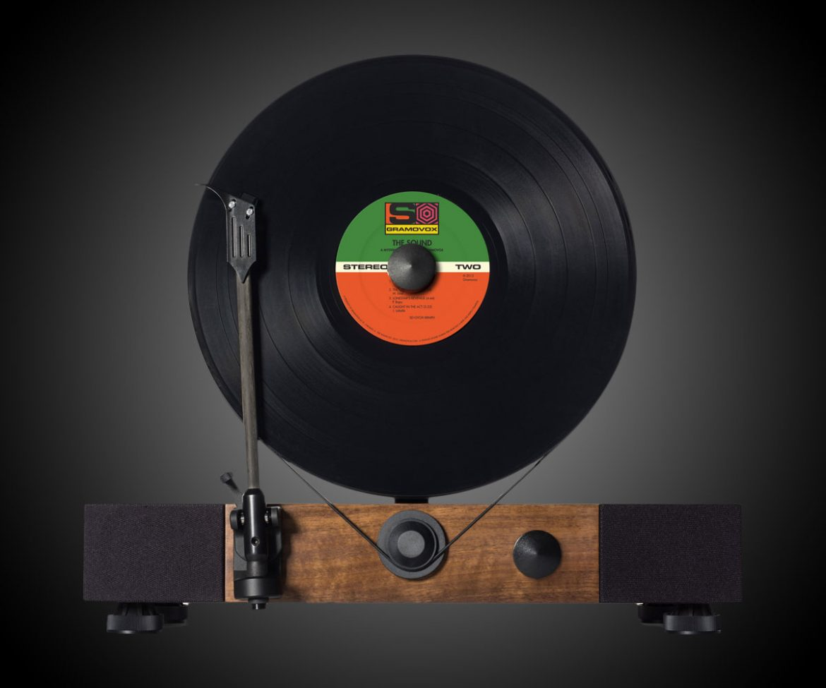 Floating Record Vertical Turntable Interwebs