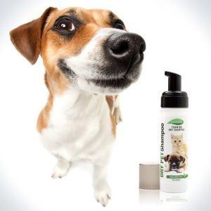 Foaming Mousse Dry Pet Shampoo