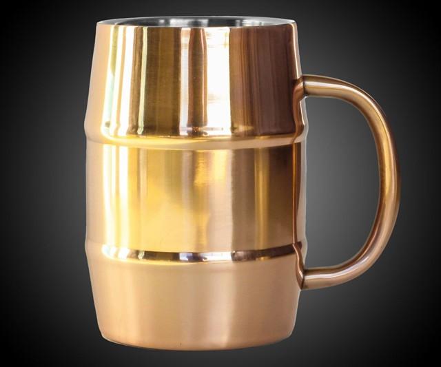Insulated Copper Beer Mug Interwebs