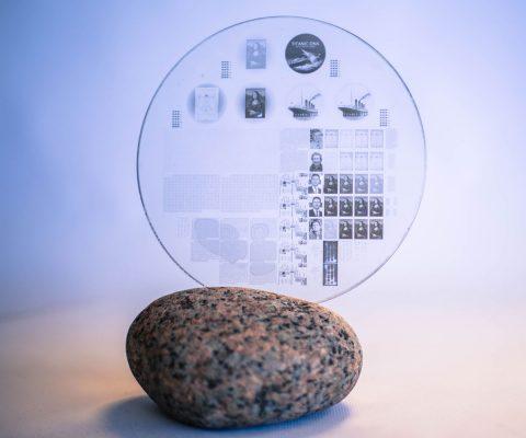 Nanoform Sapphire Eternal Storage Disk