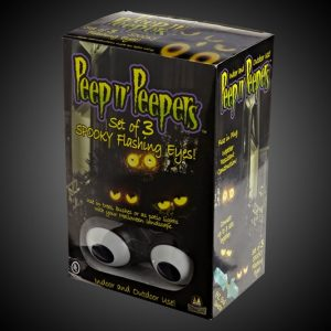 Peep n' Peepers Flashing Eyes Halloween Lights