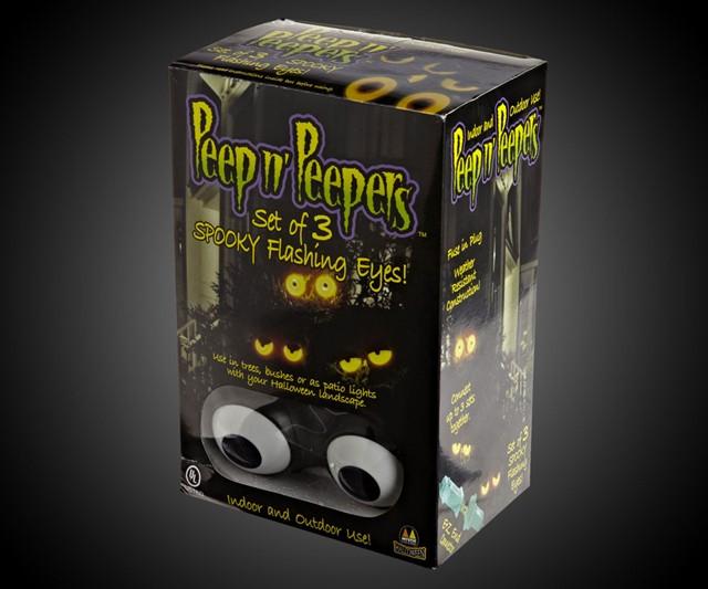 peep n peepers flashing eyes halloween lights