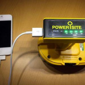 PoweriSite DeWalt Battery to USB Charger