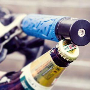 Pub-Nub Bike-Mounted Bottle Opener
