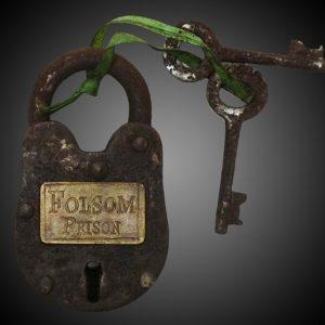 Replica Folsom Prison Antique Padlock
