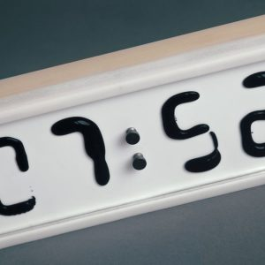 Rhei Liquid Display Clock