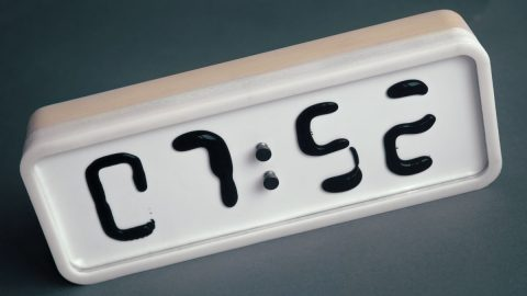 Rhei Liquid Display Clock