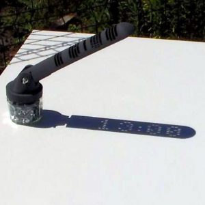"""Shadow-Operated"" Digital Sundial"
