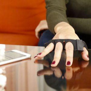 Tap Strap Wearable Bluetooth Keyboard