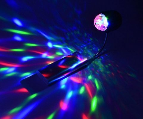 USB Book & Disco Party Light