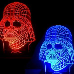 Darth Vader Color-Changing Lamp