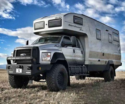 Earthroamer Luxury Overland Vehicle