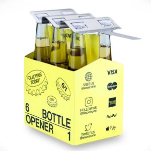 SIXOVERONE 6-Pack Bottle Opener