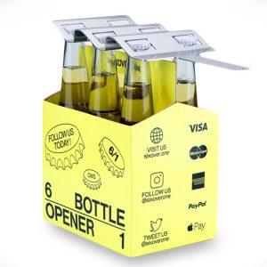SIXOVERONE 6-Pack Bottle Opener