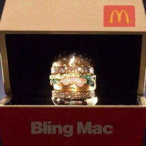 18K Gold Big Mac Ring