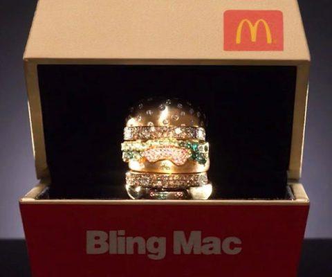 18K Gold Big Mac Ring
