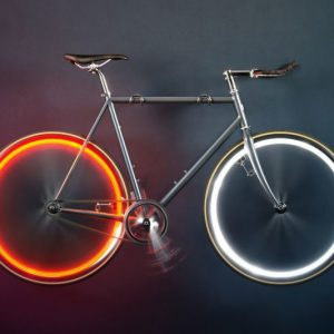Battery-Free Bicycle Lights