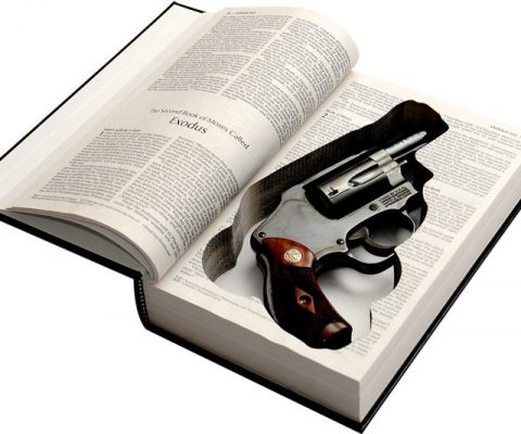 Concealed Gun Storage Bible