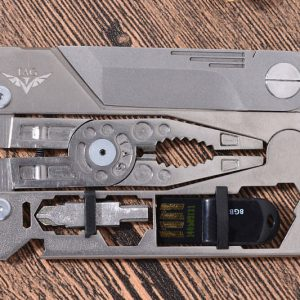 Credit Card Titanium Multi-Tool