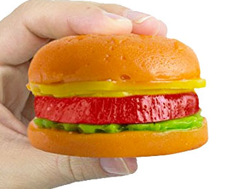 Giant Gummy Hamburger