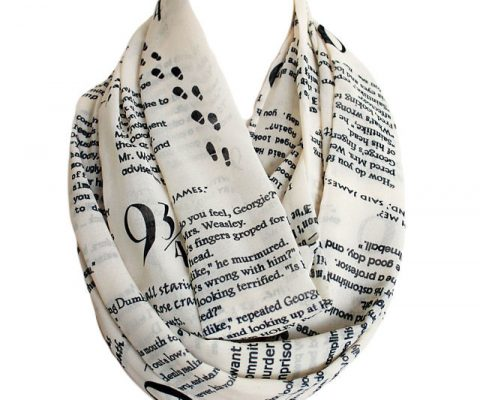 Harry Potter Quotes Scarf