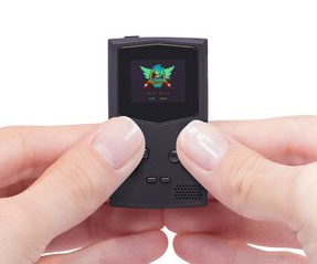 PocketStripe Keychain Gaming Console