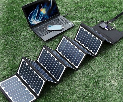 Portable Foldable Solar Panel Charger