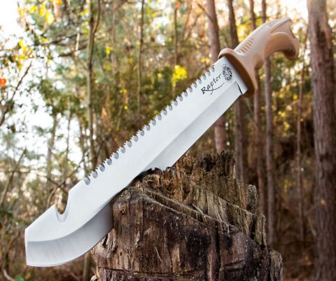 Razor Sharp Raptor Machete