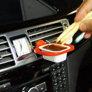 Saucemoto In-Car Dip Clip
