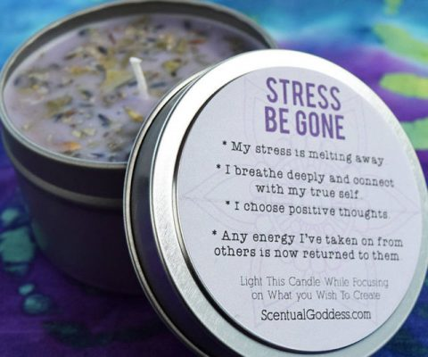 Stress Be Gone Candle