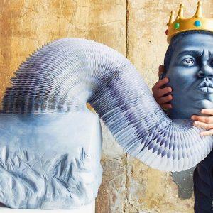 Stretchable Paper Sculptures