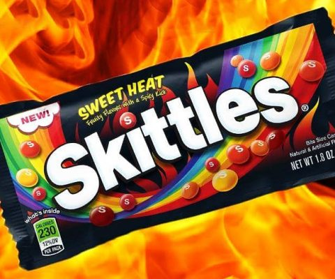 Sweet Heat Spicy Skittles
